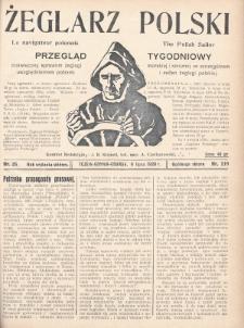 Żeglarz Polski : przegląd tygodniowy poświęcony sprawom żeglugi morskiej i rzecznej ze szczególnem uwzględnieniem potrzeb i zadań żeglugi polskiej. 1928, nr25