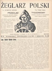 Żeglarz Polski : przegląd tygodniowy poświęcony sprawom żeglugi morskiej i rzecznej ze szczególnem uwzględnieniem potrzeb i zadań żeglugi polskiej. 1928, nr26
