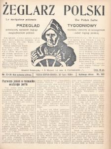 Żeglarz Polski : przegląd tygodniowy poświęcony sprawom żeglugi morskiej i rzecznej ze szczególnem uwzględnieniem potrzeb i zadań żeglugi polskiej. 1928, nr27-28