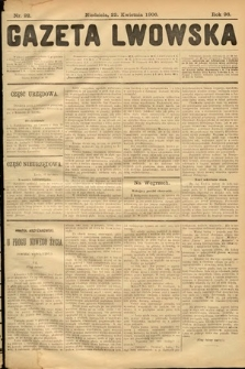 Gazeta Lwowska. 1906, nr92