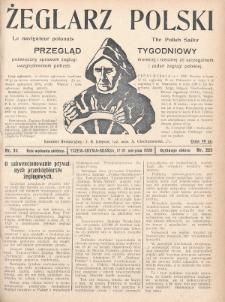 Żeglarz Polski : przegląd tygodniowy poświęcony sprawom żeglugi morskiej i rzecznej ze szczególnem uwzględnieniem potrzeb i zadań żeglugi polskiej. 1928, nr30