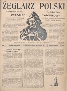 Żeglarz Polski : przegląd tygodniowy poświęcony sprawom żeglugi morskiej i rzecznej ze szczególnem uwzględnieniem potrzeb i zadań żeglugi polskiej. 1928, nr33