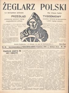 Żeglarz Polski : przegląd tygodniowy poświęcony sprawom żeglugi morskiej i rzecznej ze szczególnem uwzględnieniem potrzeb i zadań żeglugi polskiej. 1928, nr38