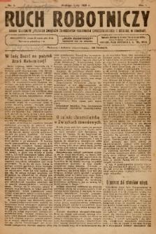 Ruch Robotniczy : organ centralny Polskich Związków Zawodowych Robotników Chrześcijańskich z siedzibą w Krakowie. 1920, nr 1