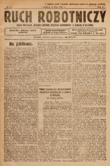 """Ruch Robotniczy : organ centralny """"Chrześcijańskich Związków Zawodowych"""" z siedzibą w Krakowie. 1921, nr 4"""