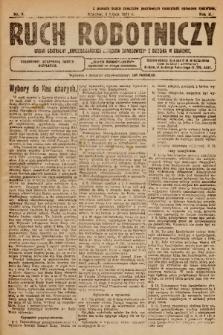 """Ruch Robotniczy : organ centralny """"Chrześcijańskich Związków Zawodowych"""" z siedzibą w Krakowie. 1921, nr 8"""