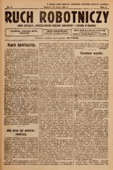 """Ruch Robotniczy : organ centralny """"Chrześcijańskich Związków Zawodowych"""" z siedzibą w Krakowie. 1921, nr 9"""