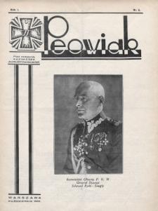 Peowiak : oficjalny organ Związku Peowiaków Okręgu Województwa Warszawskiego. 1930, nr2