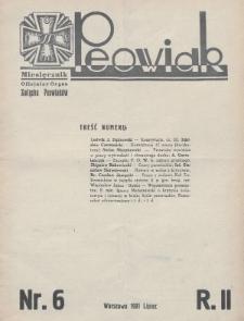 Peowiak : oficjalny organ Związku Peowiaków. 1931, nr6