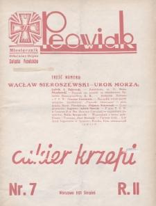 Peowiak : oficjalny organ Związku Peowiaków. 1931, nr7