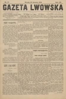 Gazeta Lwowska. 1912, nr17