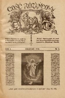 Gość Różańcowy. 1934, nr 4