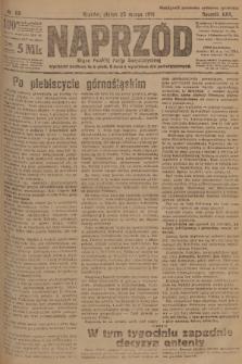 Naprzód : organ Polskiej Partyi Socyalistycznej. 1921, nr68