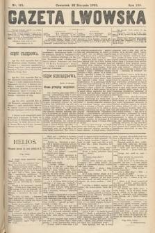Gazeta Lwowska. 1912, nr191