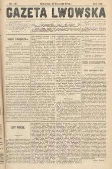 Gazeta Lwowska. 1912, nr197