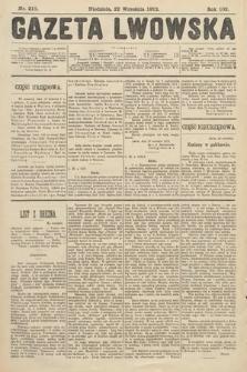 Gazeta Lwowska. 1912, nr218