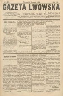 Gazeta Lwowska. 1912, nr219