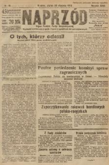 Naprzód : organ Polskiej Partyi Socyalistycznej. 1922, nr16 [nakład skonfiskowany]