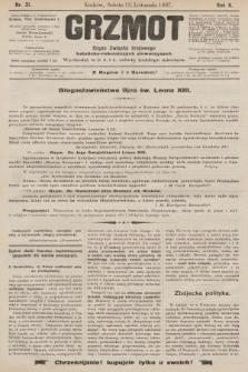 Grzmot : organ katolickich robotników. 1897, nr31