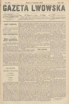 Gazeta Lwowska. 1912, nr255