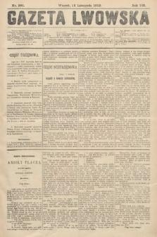 Gazeta Lwowska. 1912, nr260