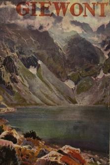 Giewont : ilustrowany kwartalnik zakopiański poświęcony sztuce, literaturze i sprawom rozwoju Zakopanego. 1924, nr 1