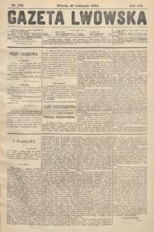 Gazeta Lwowska. 1912, nr272