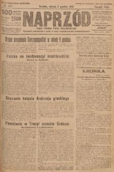 Naprzód : organ Polskiej Partyi Socyalistycznej. 1922, nr283 (Nadzwyczajne wydanie)