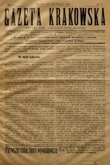 Gazeta Krakowska : pismo polityczno-społeczne. 1898, nr 3
