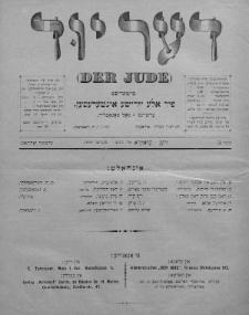 Der Jude. 1899, nr3
