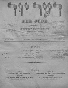 Der Jude. 1899, nr4