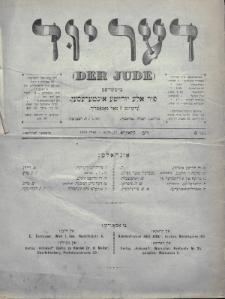 Der Jude. 1899, nr6
