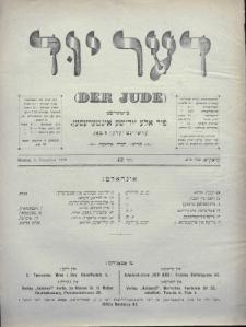 Der Jude. 1899, nr22