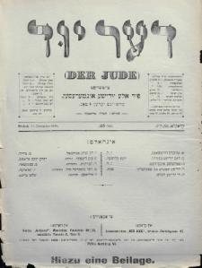 Der Jude. 1899, nr25