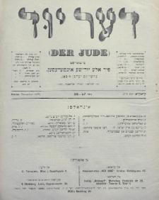 Der Jude. 1899, nr27-28