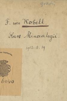 """F. von Kobell: Kurs mineralogii"""