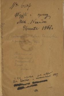 Zadania szkolne łacińskie z początku XVII w.