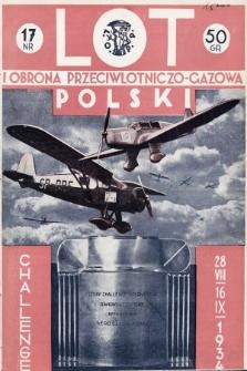 Lot i Obrona Przeciwlotniczo-Gazowa Polski. 1934, nr17