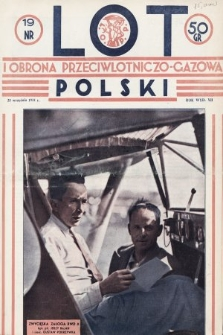 Lot i Obrona Przeciwlotniczo-Gazowa Polski. 1934, nr19