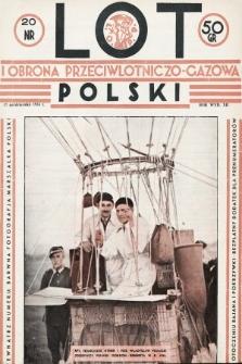 Lot i Obrona Przeciwlotniczo-Gazowa Polski. 1934, nr20