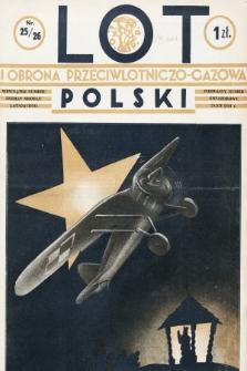Lot i Obrona Przeciwlotniczo-Gazowa Polski. 1934, nr25-26