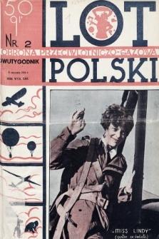 Lot i Obrona Przeciwlotniczo-Gazowa Polski. 1935, nr2