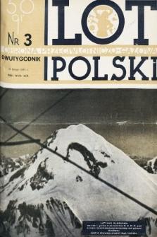 Lot i Obrona Przeciwlotniczo-Gazowa Polski. 1935, nr3