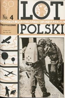 Lot i Obrona Przeciwlotniczo-Gazowa Polski. 1935, nr4