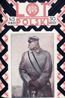 Lot i Obrona Przeciwlotniczo-Gazowa Polski. 1935, nr5