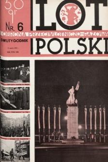 Lot i Obrona Przeciwlotniczo-Gazowa Polski. 1935, nr6