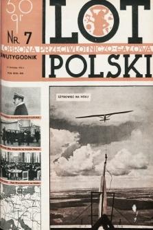 Lot i Obrona Przeciwlotniczo-Gazowa Polski. 1935, nr7