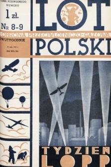 Lot i Obrona Przeciwlotniczo-Gazowa Polski. 1935, nr8-9