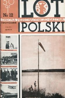 Lot i Obrona Przeciwlotniczo-Gazowa Polski. 1935, nr12