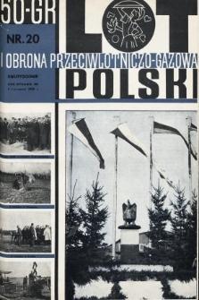 Lot i Obrona Przeciwlotniczo-Gazowa Polski. 1935, nr20